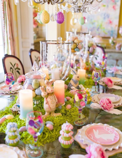 Easter tablescapes | Spring tablescapes | Easter | Start at Home tablescapes | Easter decor | Floral Tablescapes | Kid Friendly Easter Tablescapes
