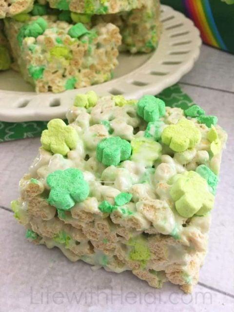 St. Patrick's day treats - kid treats - green treats