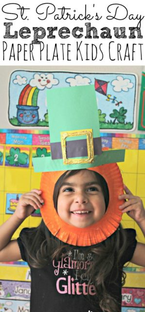 Kid crafts for St. Patrick's day - toddler activities - edible crafts