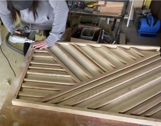 Wood art - Boho Art - Wall Decor - Wood decor - Wall hangings - DIY Wood Projects