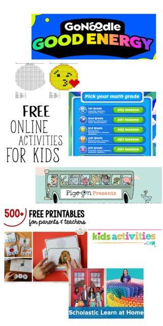 Activities For Kids During Coronavirus Quarantine