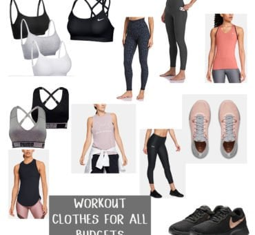 Women's Fitness Clothing that Won't Break the Bank