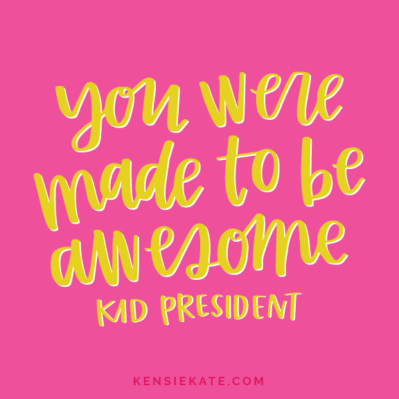 Kid quotes | Inspiring printables | Kid-friendly printables | Motivational messages for kids | Kid rooms