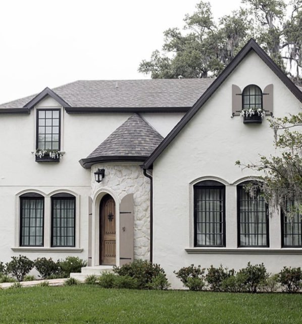 White exterior | paint colors | White House