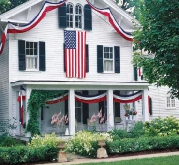 Patriotic Porches to Inspire Your Own Exterior