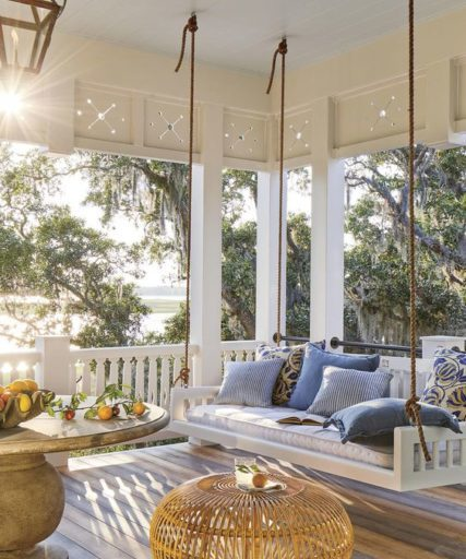 Inviting Summer Backyard Porches and Patios