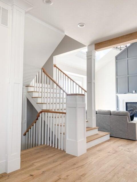 New build | Engineered Wood | wood floors | rustic wood | farmhouse floor