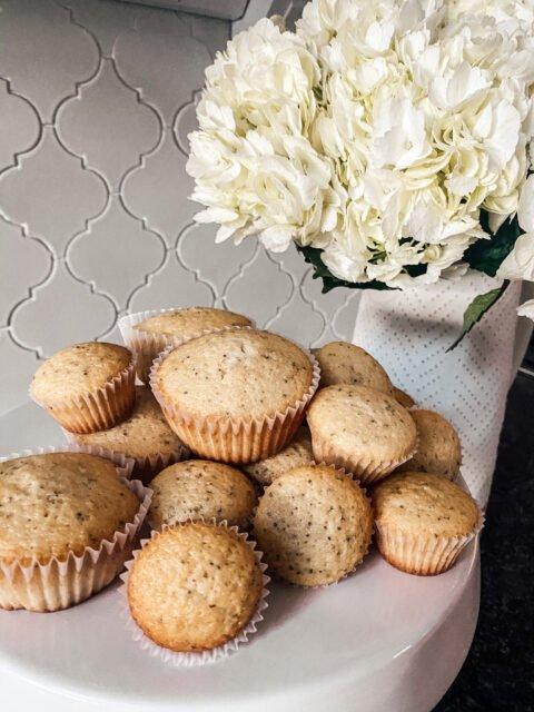 Poppyseed Muffins | Baking | Start at home | farmhouse kitchen