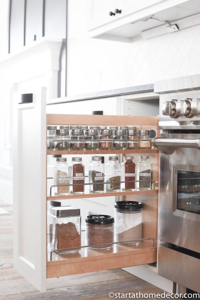 Spice Racks | Kitchen Design | Start at Home Decor