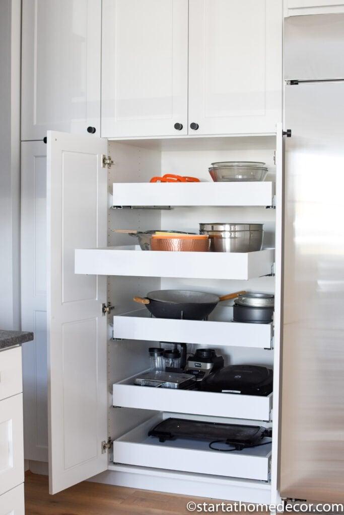 Kitchen Pantry | Extra Kitchen Storage | Start at Home Decor