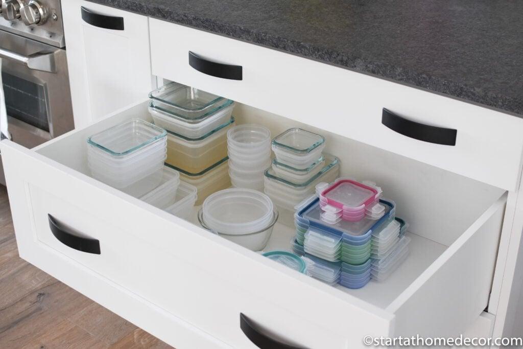 Kitchen Drawer Storage | Start at Home Decor