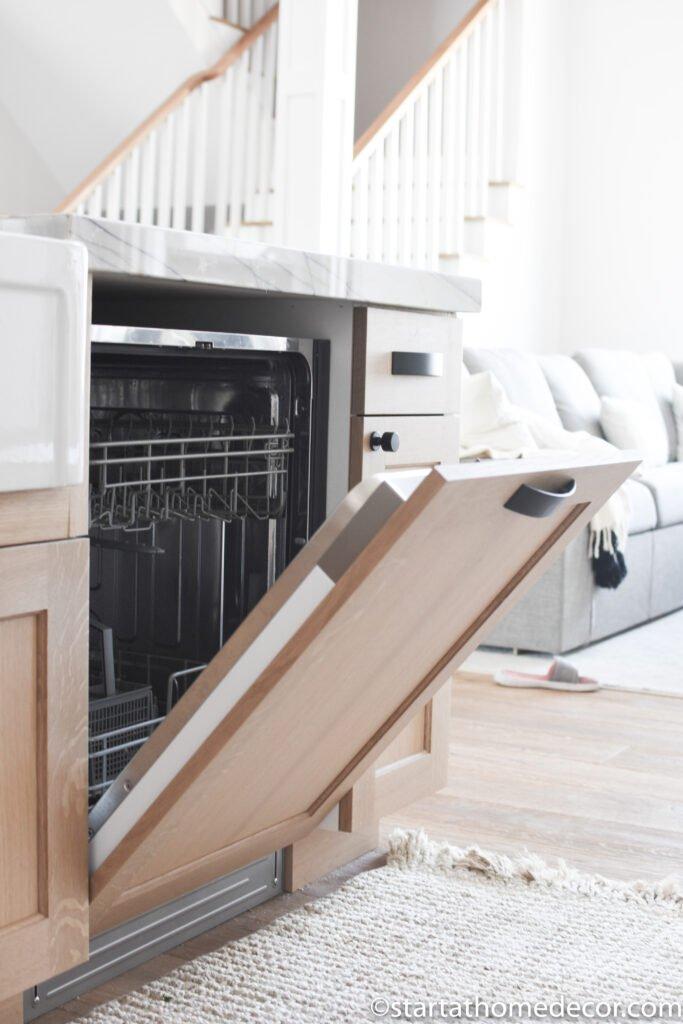 Panel Dishwasher | New Kitchen Design | Start at Home Decor