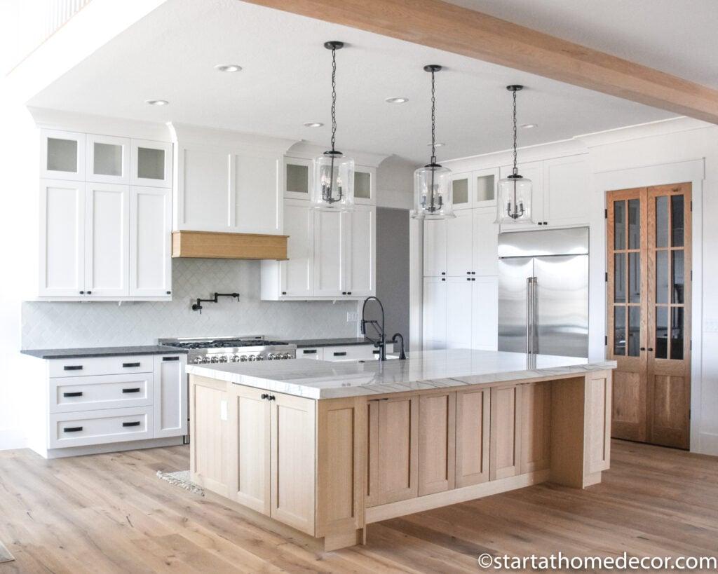 Kitchen Island Ideas | Modern Kitchen | Modern Cottage Kitchen | Start at Home Decor