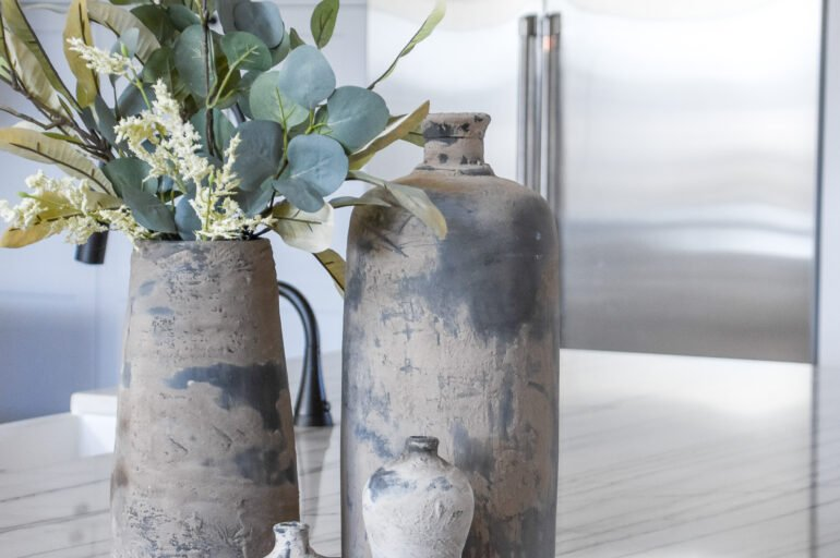 How to Make a Mud Covered Vase