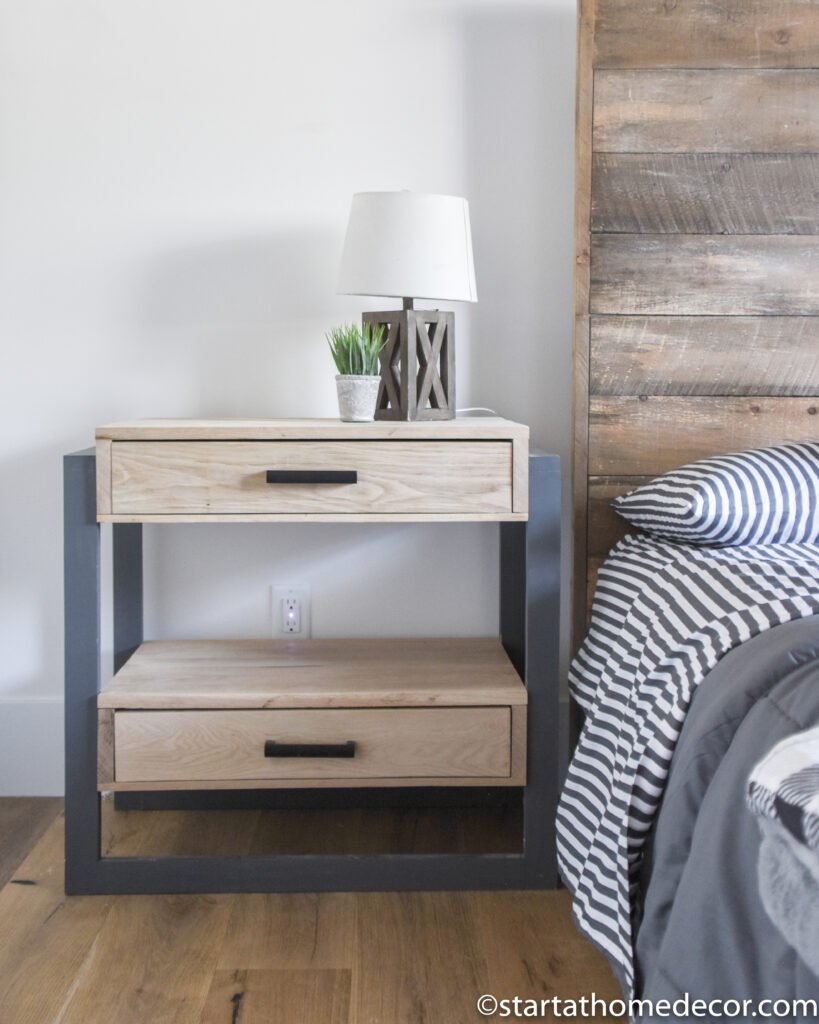 Building a nightstand | modern nightstand | boy room | DIY nightstand