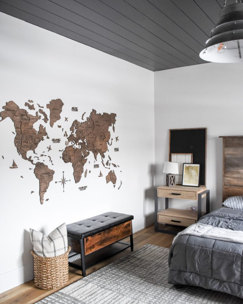 Map for a Little Boys room