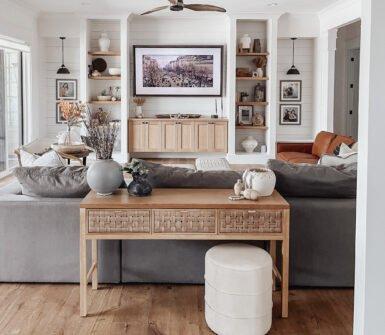 Easy Fall Family Room